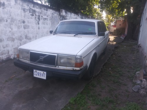1982 Volvo Car 244 Driving Vehicle