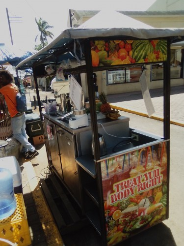 Smoothie And Food Cart