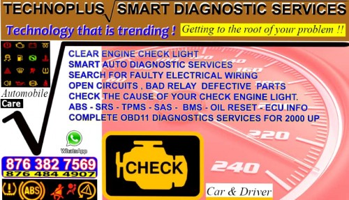 Car Diagnostic To The Fullest. We Not Only Diagno.