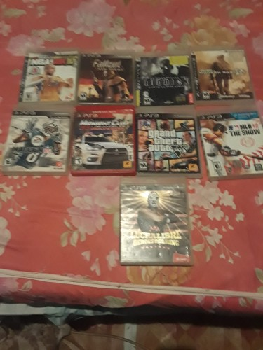Ps3 One Control All Connections And 8 Games Need T