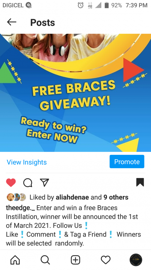 Enter And Win A Free Braces Instillation!!!!