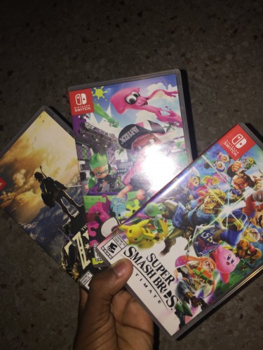 Nintendo Switch With Games And Accessories For PS4