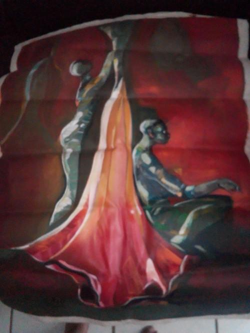 Oil On Canvas Richard Hall 2010