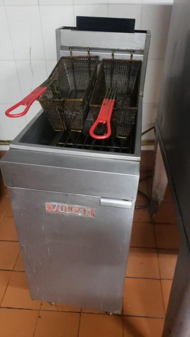 Vulcan Double Vat Deep Commercial Fryer