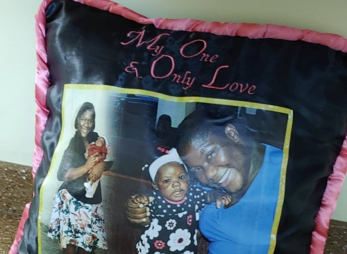 Customize Zip Off Photo Cushions With Backgrounds