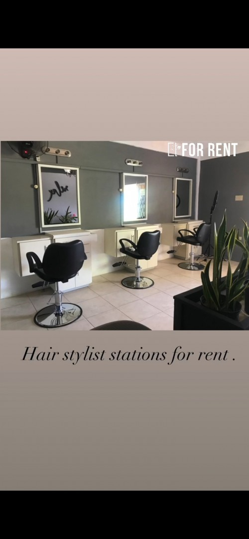 Stations For Barber, Nailtech & Hairdresser