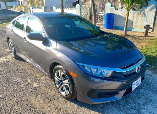 2017 Honda Civic LX (LHD/2WD, Automatic)COLOR:Gry