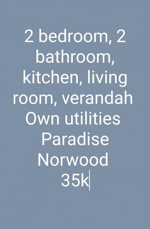 2 Bedroom,2 Bathroom,kitchen, Living Room,verandah