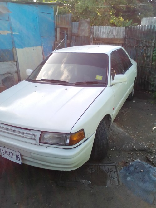 Driving Mazda 323 Fully Up 1992 Engine Up Ac 135k