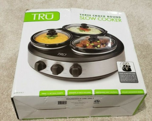 Rice Cooker Wide 3 Pot Inside Ina Box Still 10kn9k