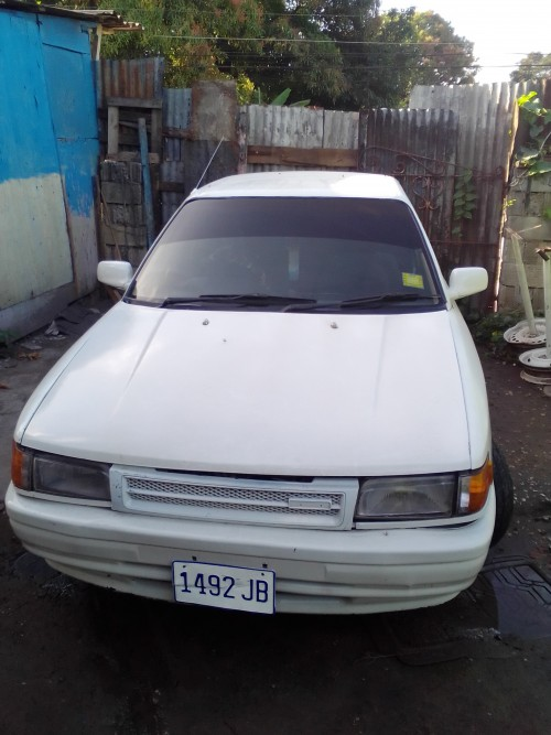 1992 Mazda 323 Fully Up Car Engine Gud Ac Papers