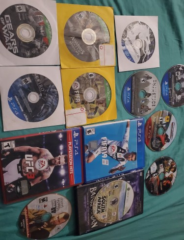 Ps4, Ps3, Xbox 1 And 360 Games
