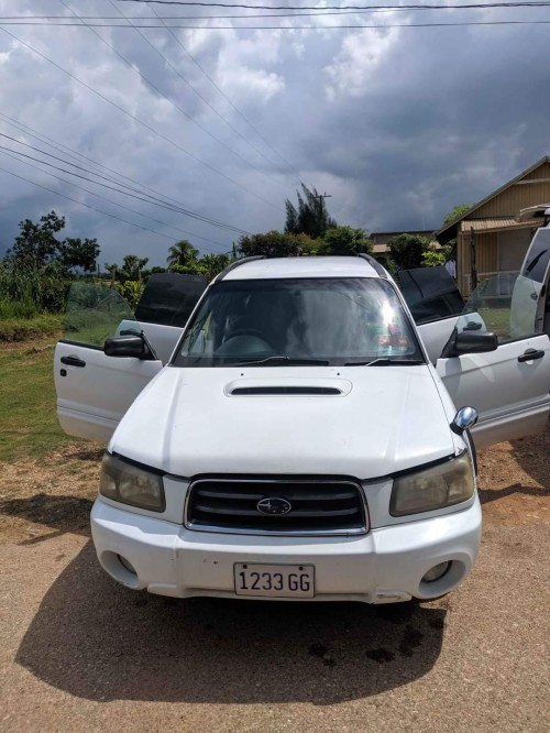 2005 Subaru Forester Turbo Charged