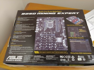 Brand New ASUS B250 Mining Expert Motherboard