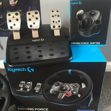 Logitech G29 Driving Force Racing Wheel With Pedal