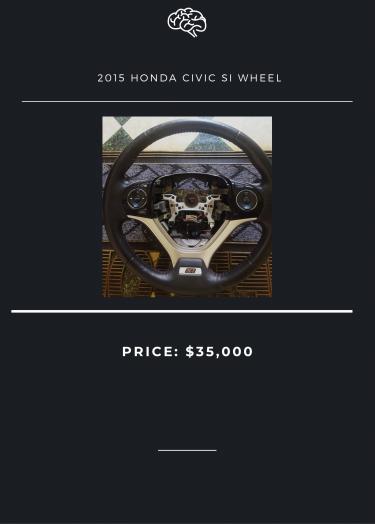 2015 Honda Civic SI Wheel