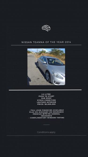 2014 Nissan Teanna