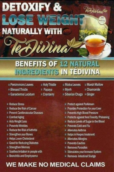Te Divina Detox Tea