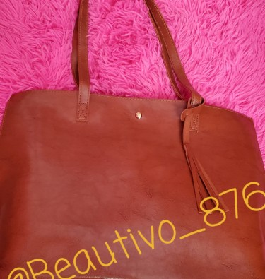 Oil Wax Leather Tote