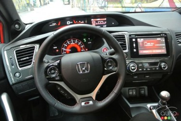 2015 Honda Civic Si SteeringWheel