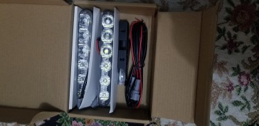 2PCS Fit 6 LED High Power LED Daytime Running Ligh