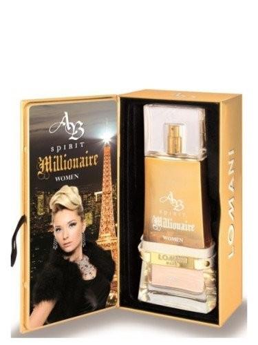 AB SPIRIT MILLIONAIRE WOMEN LOMANI PARIS 3.3 FL. O