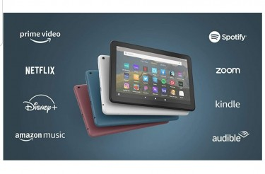 Amazon Fire HD 8 Tablet, 8