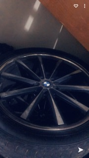 22 Inches BMW Rims & Tyres Rims and Tyres Half Way Tree