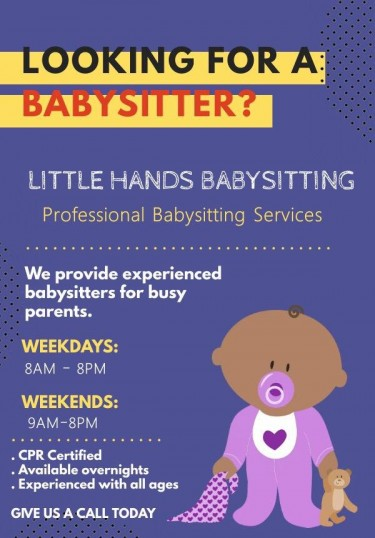 Reliable, Professional And Trustworthy Babysitter