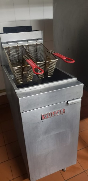 Double Commercial Deep Fryer