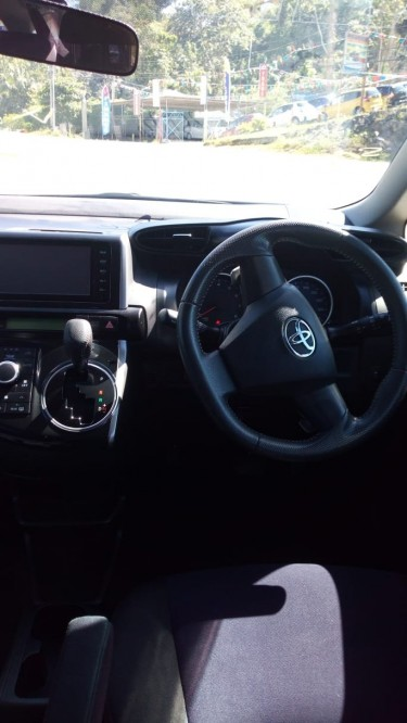 Newly Imported Toyota Wish 2015
