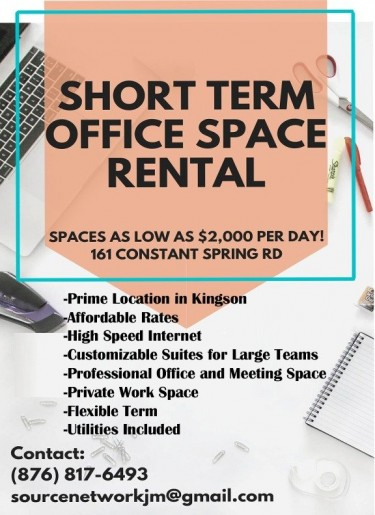 Short Term Office Spaces For Rent