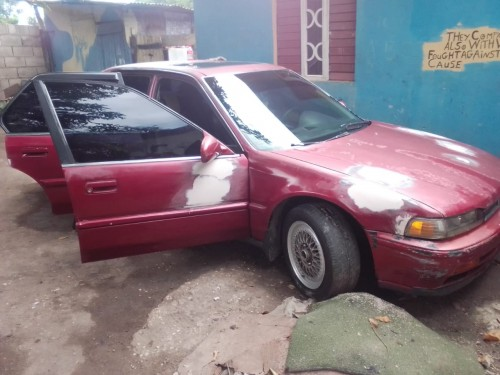 Honda Civic 1990 Driving Papers Tire Rims Gud Engi