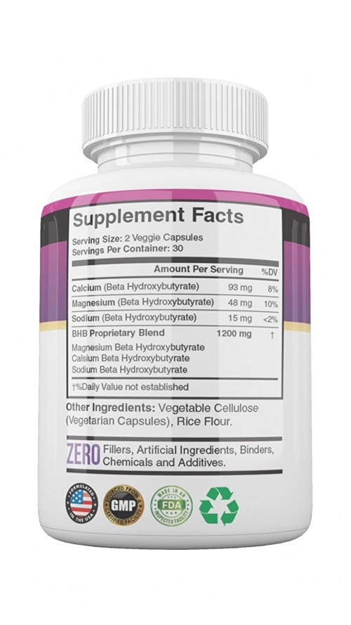 Keto Advanced Weight Loss Formula. 60 Capsules.
