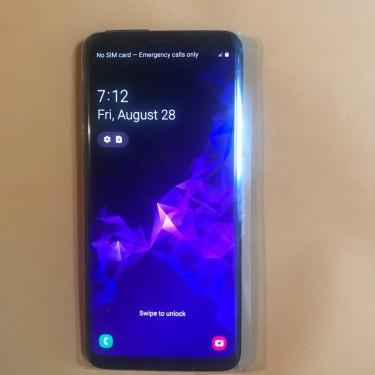 Samsung Galaxy S9 64gb Factory GSM  Unlock  Condit