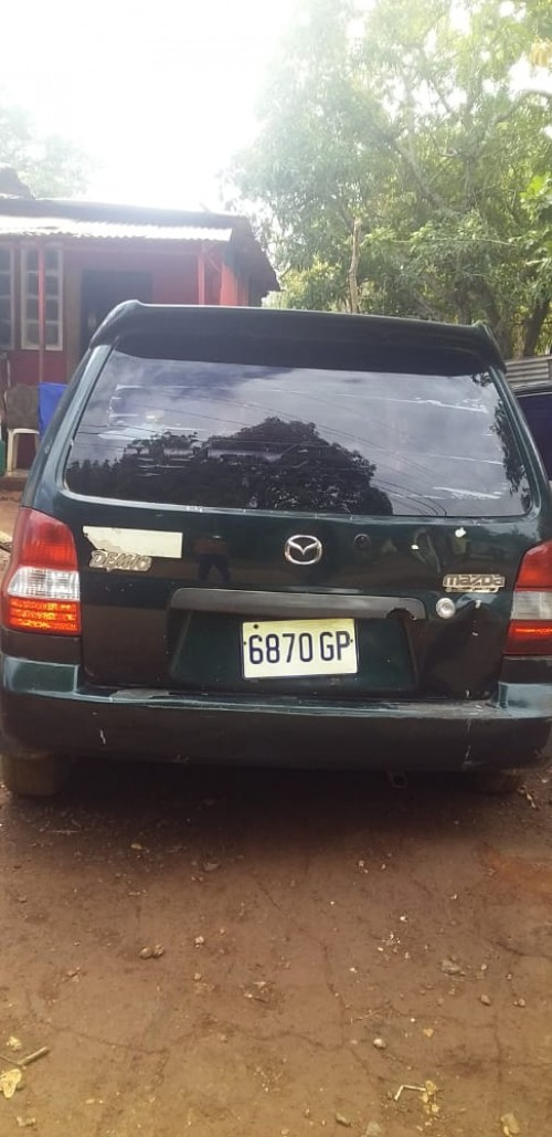 Mazda 2002 Only 2head Lite Damage License Ac 160k