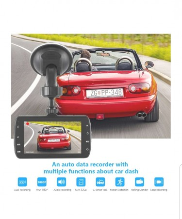 Dash Cam, Dashboard Camera Recorder Full HD 1080P