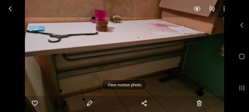 BIG WORK TABLE