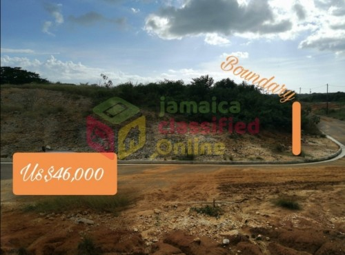 ⅛ Acres Of Land For Sale. Long In Length.