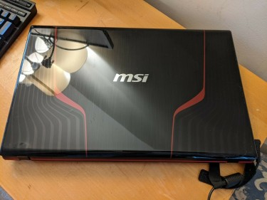 MSI Gaming Laptop In Box For Sale And Working 100%