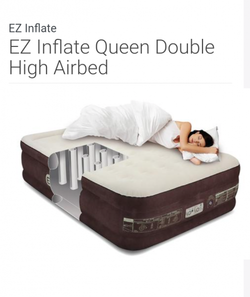 Self Inflatable Bed (Queen)