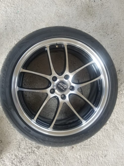 18 Inch Rims With 245/40 Tires