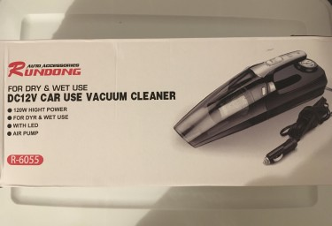 4 IN 1 Car Vacuum Cleaner And Tire Inflator