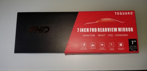 Car 7inch  Screen Recorder  Back And Front