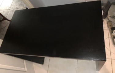"Desk 32""W Solid Wood"