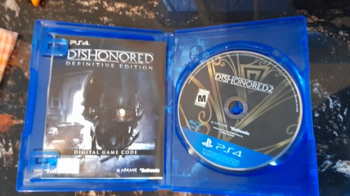 PS4 Limited Edition Dishonored 2 Disc