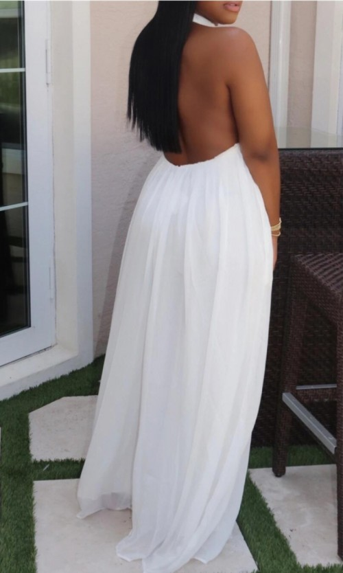Plus Size Alter Back Dress