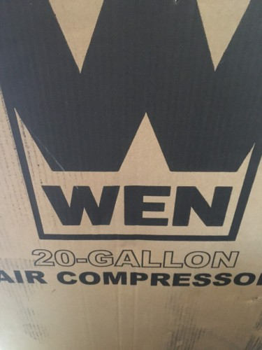 WEN 20-GALLON PORTABLE AIR COMPRESSOR *BRAND NEW*