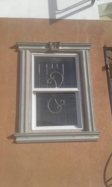 Molding Installment.... Walls, Windows And Insides