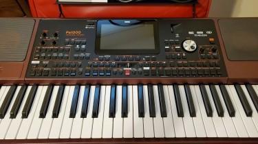 Korg PA1000 61 Key Arranger Keyboard